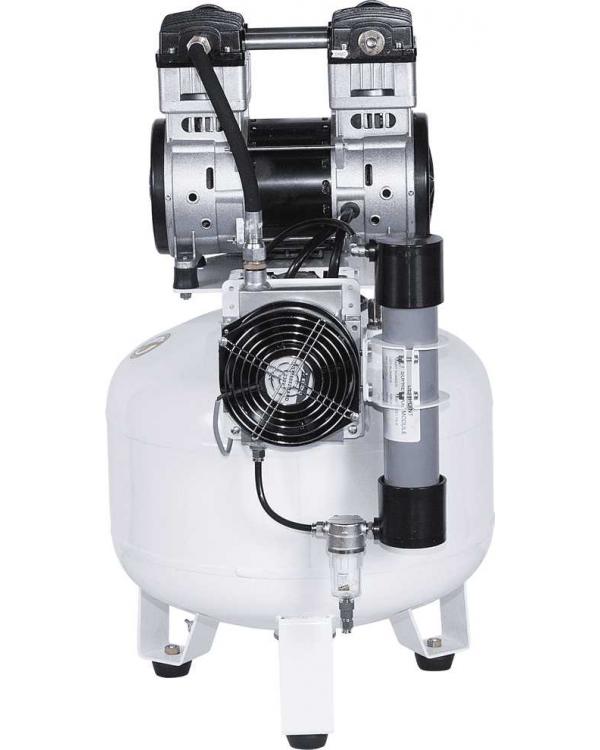 СБ4-50.OLD15СM - безмасляный компрессор для 2-x стоматологических установок, с осушителем мембранного типа, с ресивером 50 л, 135 л/мин
