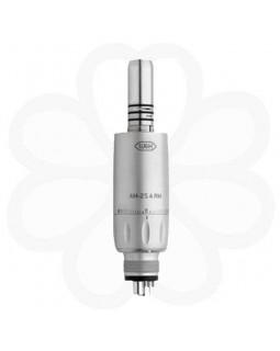 AM-25 А RM - пневматический микромотор для прямых и угловых наконечников с внутренней подачей воды (для 4-канального соединения Midwest)