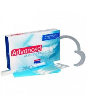 Amazing White Advanced 16% - набор экспресс отбеливания для чувствительных зубов на 2-3 пациента - применение с лампой холодного света