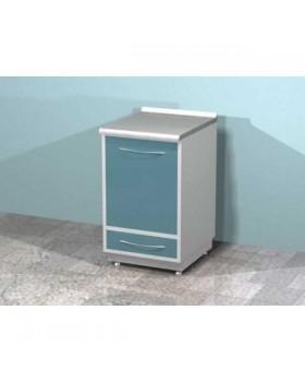 AR-03 - металлическая тумба со встроенным холодильником