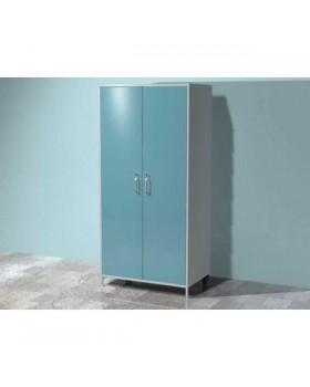 AR-XC25 - шкаф для хозяйственного инвентаря с двумя распашными металлическими дверьми, семью металлическими полками