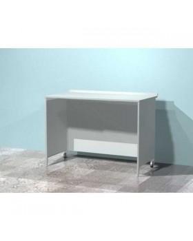AR-XL30 - стол лабораторный металлический простой, стенки закрыты