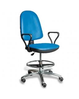 AR-Z32F - стул лабораторный с подножкой для ног