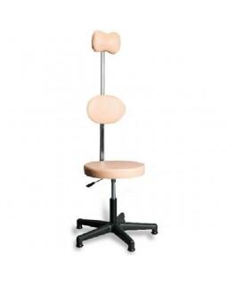 AR-Z67B - стул для рентгенкабинета с черной пластиковой основой