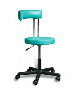 AR-Z69B - стул врача с черной пластиковой основой