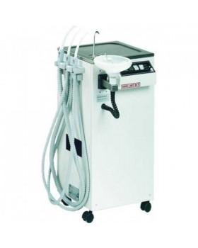 Aspi-Jet 9 - стоматологический мобильный аспиратор с плевательницей, автоматическим сливом и наполнением стакана