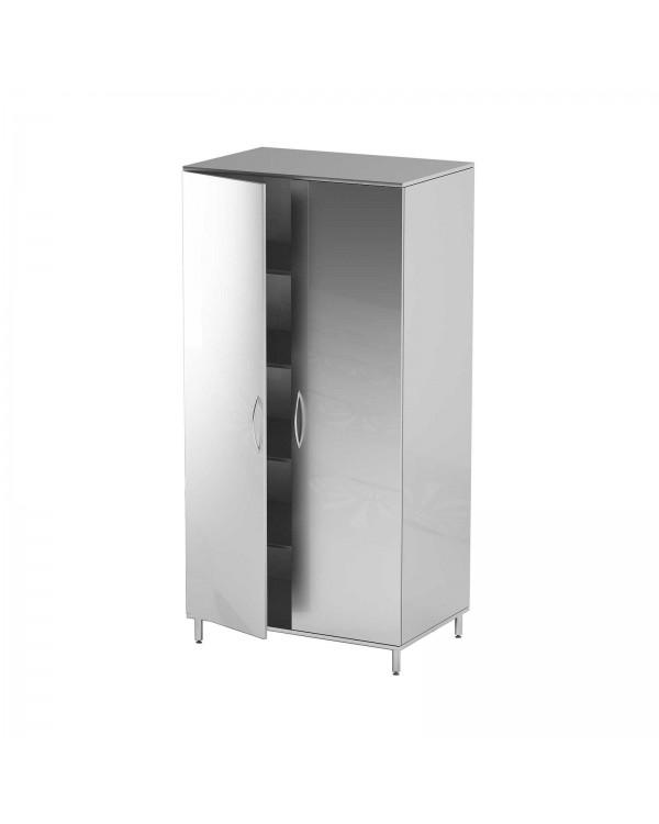 AT-S13 - шкаф закрытого типа, нержавеющая сталь, 4 полки