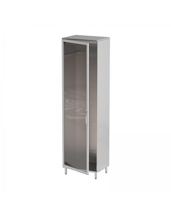 AT-S43 - шкаф для эндоскопов, нержавеющая сталь, 1 ультрафиолетовая лампа, 4 держателя для эндоскопов