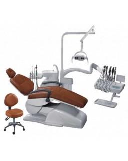 AY-A 4800 I - стоматологическая установка (поворотный гидроблок, верхняя подача инструментов)
