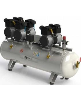 Б4-150.OLD20x3C - безмасляный компрессор для 7-и стоматологических установок, с ресивером 150 л, 540 л/мин