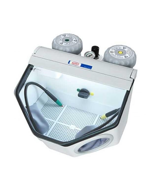 Basic classic - аппарат для тонкоструйной обработки, 220-240 В, струйное соплo 0,8 мм, 50/60 Гц, 25-70 мкм