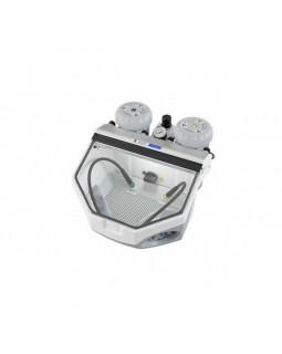 Basic eco - аппарат для тонкоструйной обработки с двумя бачками, 25-70 мкм, 70-250 мкм