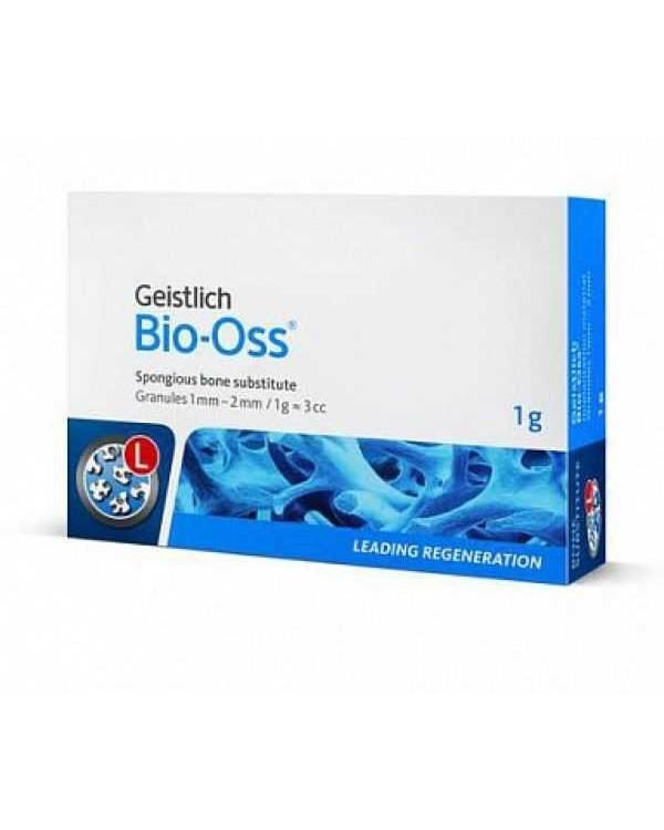 BIO-OSS - 1,0 г, гранулы 1-2 мм, размер L, натуральный костнозамещающий материал