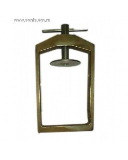 Бюгель техкюветный стальной с винтовым зажимом