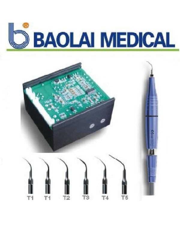Bool С6 LED - встраиваемый скалер со светом и автоклавируемой алюминиевой ручкой