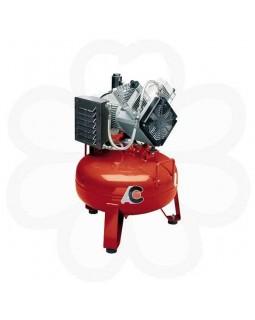 Cattani 50-160 - безмасляный компрессор для 2-х стоматологических установок, c осушителем, без кожуха, с ресивером 50 л, 160 л/мин