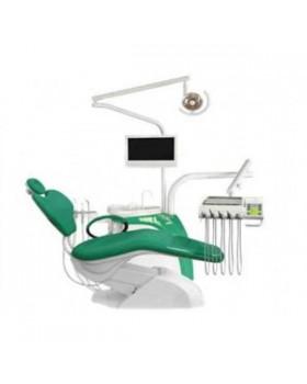 Chiromega 654 Solo - стоматологическая установка с креслом и 3-мя инструментами