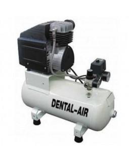 Dental Air 1/24/3-C - безмасляный воздушный компрессор с дополнительным звукоизолирующим сборным кожухом (100 л/мин) на 1 установку
