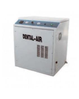 Dental Air 1/24/379 - безмасляный воздушный компрессор с осушителем, с кожухом (100 л/мин) на 1 установку
