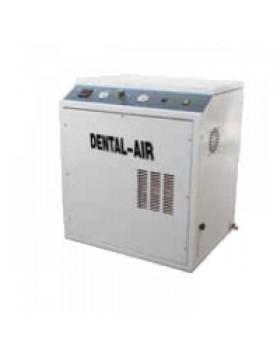 Dental Air 3/24/379 - безмасляный воздушный компрессор с кожухом, с осушителем (200 л/мин) на 3 установки