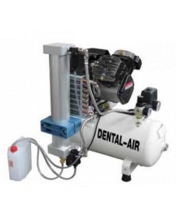 Dental Air 3/24/57 - безмасляный воздушный компрессор с осушителем, без кожуха (200 л/мин) на 3 установки