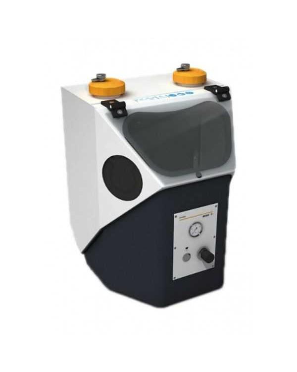 Duostar Plus - комбинированный пескоструйный аппарат с 2-мя игольчатыми соплами и рециркулирующей системой с неподвижным соплом