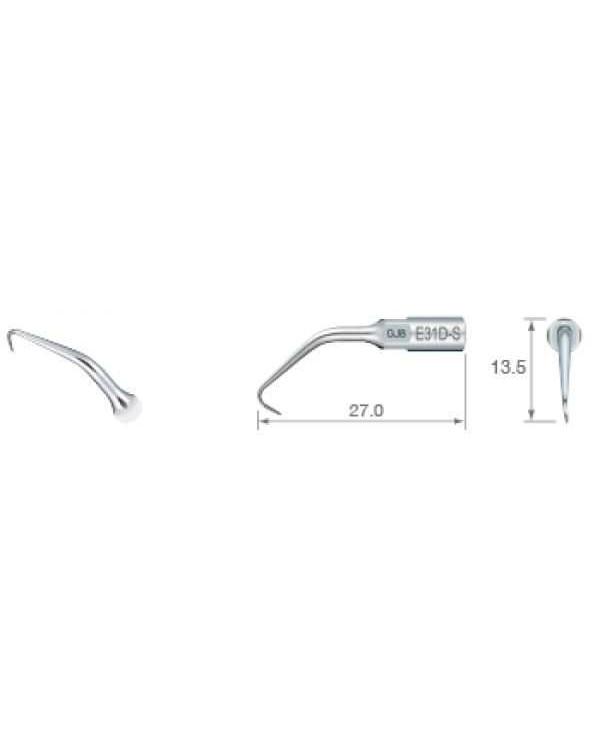 E31D-S - эндоретроградная насадка для передних и задних зубов (70°)
