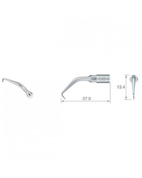 E32D-S - эндоретроградная насадка для передних зубов (90°)