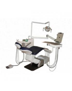 Eclipse - стоматологическая установка с нижней подачей инструментов, двумя стульями