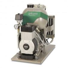 EKOM DK50-10 Z (S) - безмасляный компрессор для одной стоматологической установки без осушителя, с ресивером 10 л (75 л/мин)