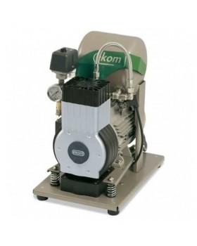 EKOM DK50 B (BS) - безмасляный компрессор для одной стоматологической установки с ресивером 4 л (50 л/мин)
