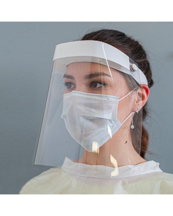 Экран защитный для лица многоразовый + 5 масок