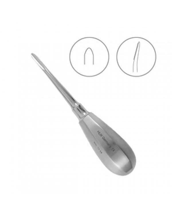 Элеватор Bein, зубчатый, изогнутый, 4 мм