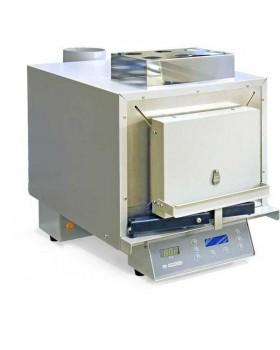 ЭМП 11.6 М - большая электромуфельная печь с блоком принудительной управляемой вытяжки