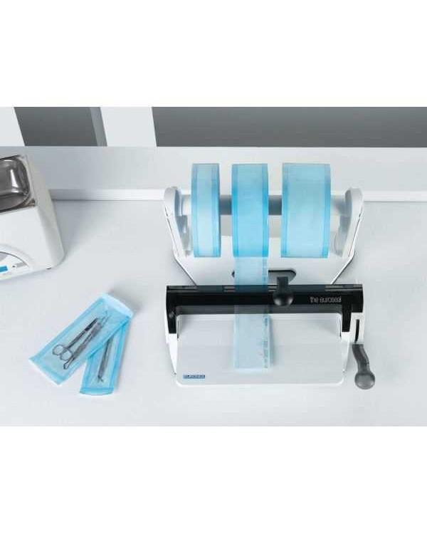 Euronda 200/240 SHU - устройство для запечатывания пакетов с 2-мя держателями рулонов, ширина рулона 310 мм, ширина шва 12 мм