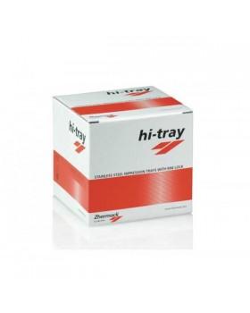 Hi-Tray Metal - ложка слепочная без перфорации, верх/низ - 8 шт