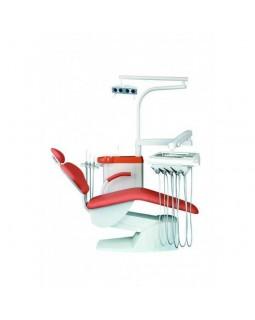IMPULS S100 - стационарная стоматологическая установка с нижней подачей инструментов
