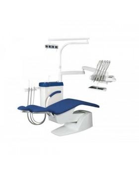 IMPULS S100 - стационарная стоматологическая установка с верхней подачей инструментов