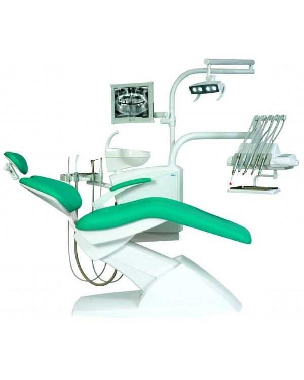 IMPULS S300 NEO - стационарная стоматологическая установка с верхней подачей инструментов