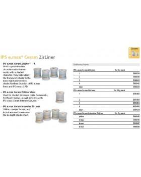 IPS e.max Ceram Интенсивный циркониевый подслой 5 г желтый (шт.)