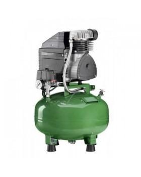 KD 124 B - безмасляный компрессор для одной стоматологической установки, без осушителя, с кожухом, с ресивером 24 л (60 л/мин)