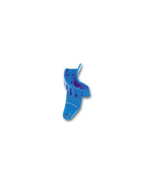 Ложка слепочная, набор 24 штуки, пластиковая с перфорацией без бортиков половинка нижняя левая однор