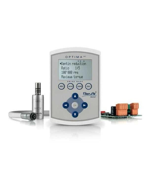 Optima MCX INT - прибор управления для двух микромоторов со светодиодной подсветкой, с преобразователем и реле