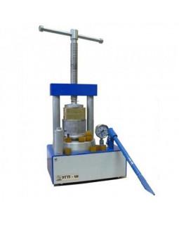 Пресс гидравлический для штамповки коронок из нержавеющей стали и обжатия кювет
