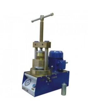 Пресс гидравлический с электроприводом для штамповки металлических коронок и обжатия кювет
