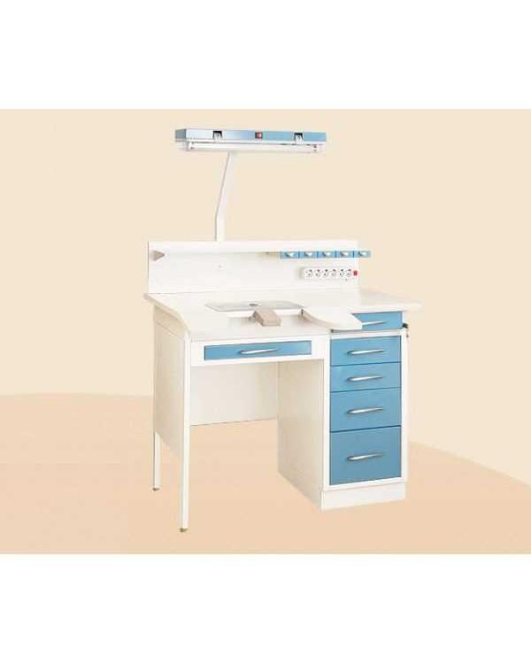 С1РМ - стол рабочий однотумбовый (зуботехнический) 1200 мм, базовый вариант на 1 рабочее место