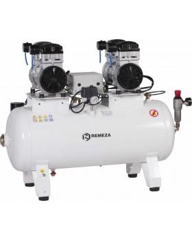 СБ4-100.OLD20СТ - компрессор для 4-x стоматологических установок, без осушителя, с ресивером 100 л, 360 л/мин, тандем