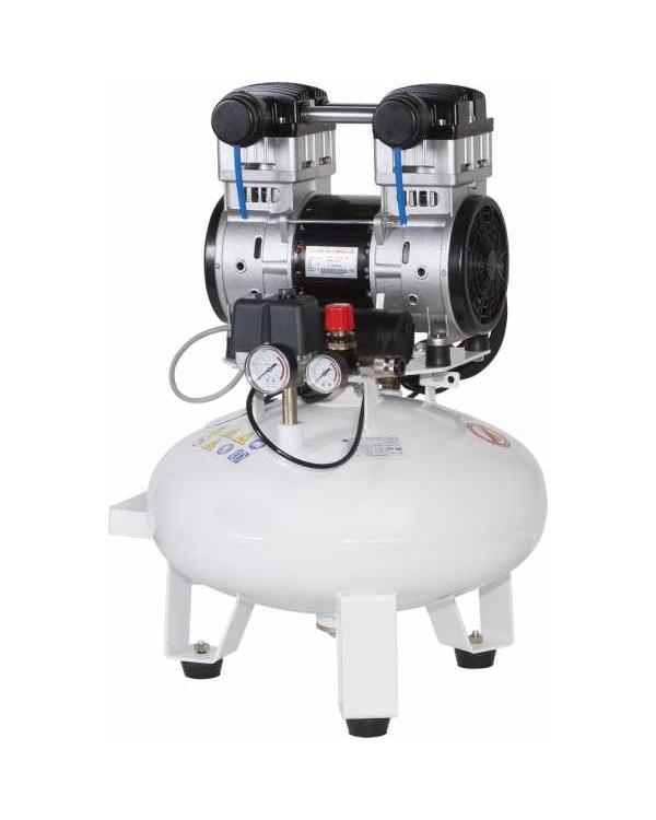 СБ4-24.OLD10СМ - безмасляный компрессор для одной стоматологической установки, с осушителем мембранного типа, с ресивером 24 л, 75 л/мин