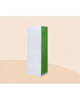 ШМ-А2м - шкаф одностворчатый 4 полки (дверь металлическая) 1860х500х495 мм