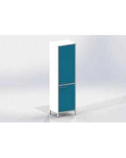 Шме-1мм - шкаф закрытого типа, 2 секции